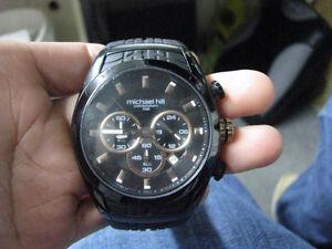 Michael Hill Watches Men's Watch ..rubber sport band..