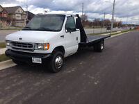 1998 Ford E450 super duty flat bed