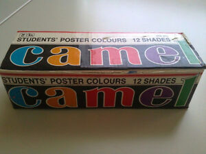 Camel pack of 12 poster paint colours London Ontario image 2