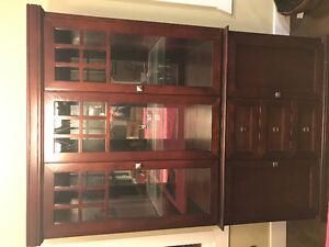 Beautiful Giuseppe Arcese China Cabinet and Buffet Hutch