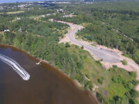 Buildings lots in a new subdivision in Shediac with water access