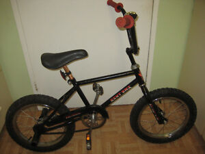 16'' bmx bike with pegs on rear wheel tuned up ready to ride