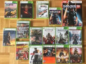 Fable, Gear of War, Fallout, The Orange Box...