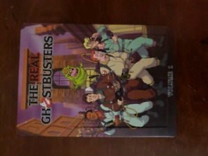 Marvel collectors movie books/ the real Ghostbusters