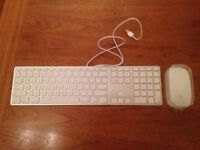New Apple Magic Mouse and wired keyboard NEVER USED