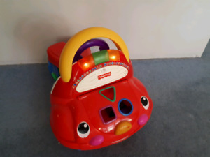 Fisher price learn to walk car