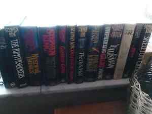 Stephan King Hardcover first edition early books w/ dustjaclets