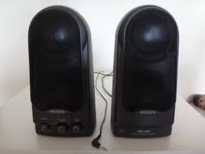 SONY SRS-S60 Active Computer Portable Speakers