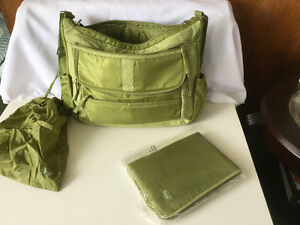 LUG  over night bag / diaper bag / gym bag