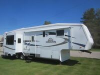 2008 Crossroads Kingston 33RK 5TH Wheel **TRIPLE SLIDE OUTS** London Ontario Preview