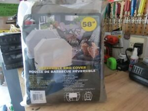 Heavy Duty BBQ Reversible Cover. BRAND NEW