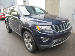 2015 Jeep Grand Cherokee Limited **Nav,Cuir,Toit, 20 Pouces**