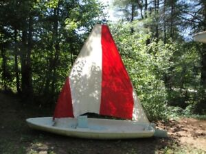 Sailboat - (Styrafoam hull)
