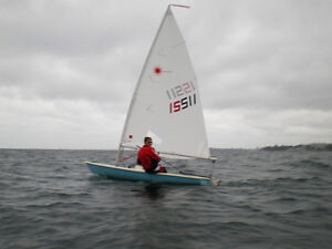 REDUCED - Classic Laser Racing Dinghy for sale!