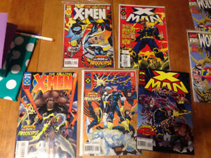 Various X-men and related titles lot