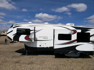 2013  Chaparral 330FBH 5th wheel camper