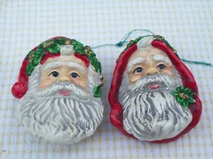 Two Santa heads Sarnia Sarnia Area image 1