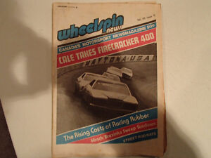 Vintage Collection of 6 WHEELSPIN NEWS Canada's Motorsport News Sarnia Sarnia Area image 2