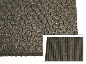 "Rubber Fitness Flooring - 4' x 6' x 1/2"""