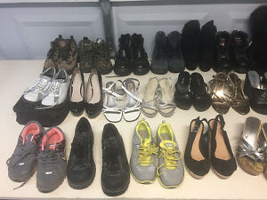 Lots of sandals, boots and shoes!