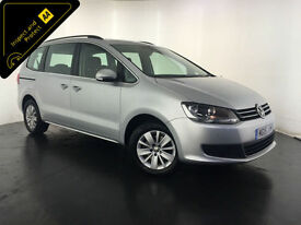 2015 VOLKSWAGEN SHARAN SE BLUEMOTION TDI 1 OWNER SERVICE HISTORY FINANCE PX