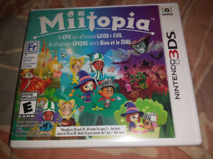 Like new Miitopia Nintendo 3DS game complete in case