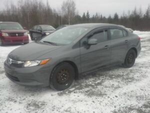 2012 Honda Civic Sedan !! FULLY LOADED !! WINTER TIRES !!