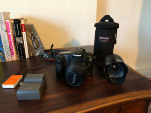 Canon EOS 20D with 2 lenses (EFS and Tamron) $400 OBO