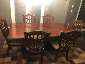 9pcs dining table set