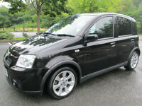 07/07 FIAT PANDA 100HP 5DR HATCH IN MET BLACK