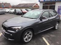 2013 63 BMW X1 2.0 XDRIVE20D M SPORT 5D 181 BHP DIESEL