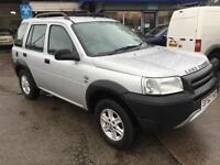 52 plate Land Rover Freelander 2.0 Td4 GS station wagon