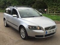 Volvo v50 diesel estate 1 year mot no advisory