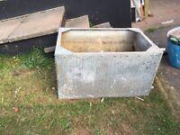 Free water tank