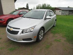 2014 Chevrolet Cruze LT Sedan ONLY 61000 KM 1.4 L TRUBO