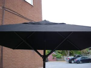 Tuuci Industrial patio Umbrellas 4 in total with 100 lbs stands