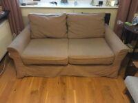 2 Seat Sofa & Heals Sofa bed FREE
