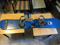 Snowboard airwalk