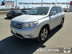 2011 Toyota Highlander Limited   - Power Moonroof -  Navigation