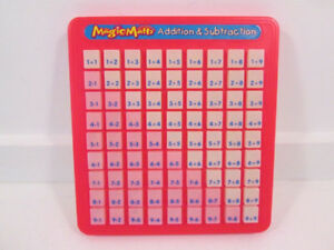 MAGIC MATH - ADDITION AND SUBTRACTION MACHINE:NO BATTERIES REQUI