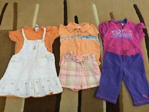 Lot of Girls Size 3 summer clothes
