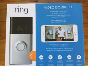 ring Video Doorbell: BRAND NEW, IN BOX