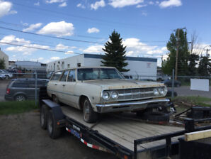 Great Chevy  Malibu wagon project with 283 v-8