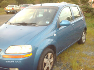 2006 Chevy Aveo