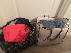 TWO HUGE BAGS OF BRAND NAME CLOTHING