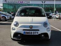 2018 Abarth 595 Abarth 595 1.4 T-Jet 145 3dr 17in Alloys Hatchback Petrol Manual