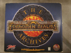 The Forgotten Realm Archives - All 12 Titles 4-Disc Collection