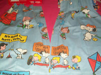 Peanuts curtains