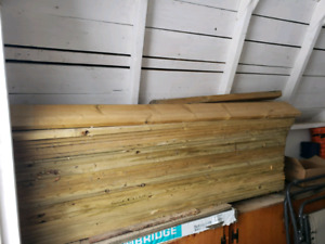 5' Spruce Fence Boards