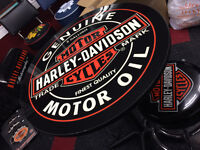 Harley Davidson Oil Can Pub table